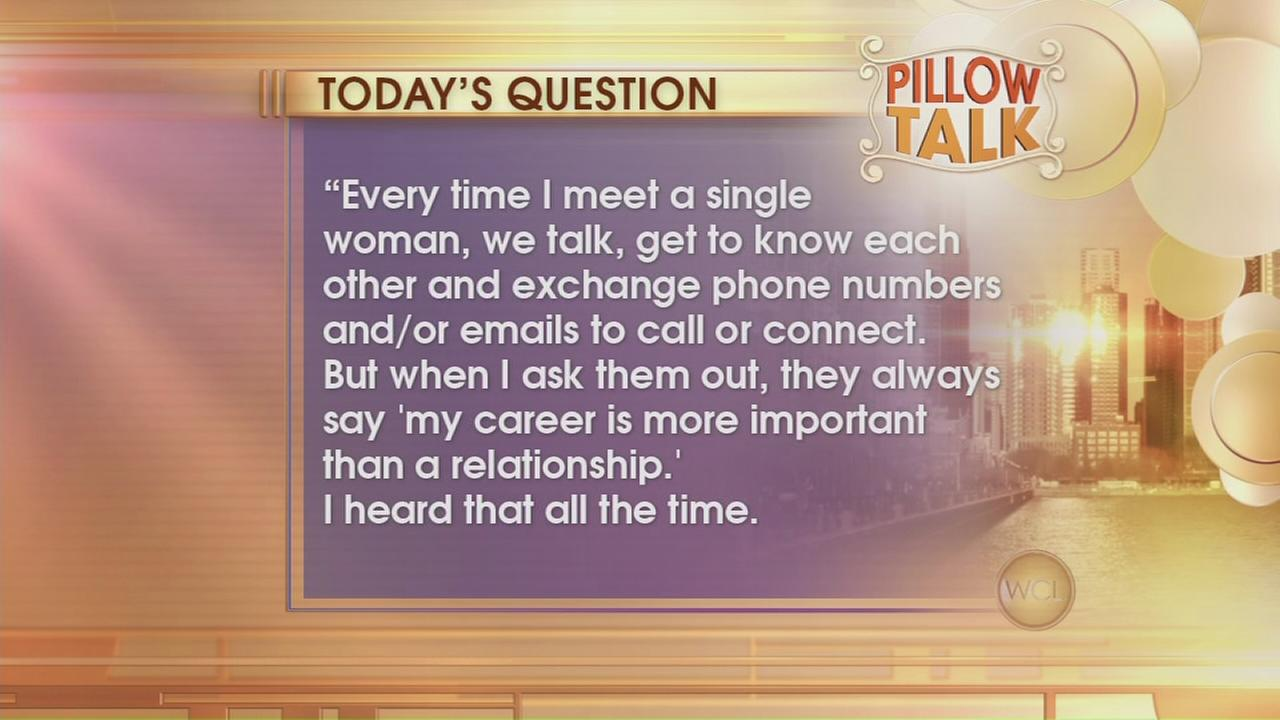 Pillow Talk: Career woman
