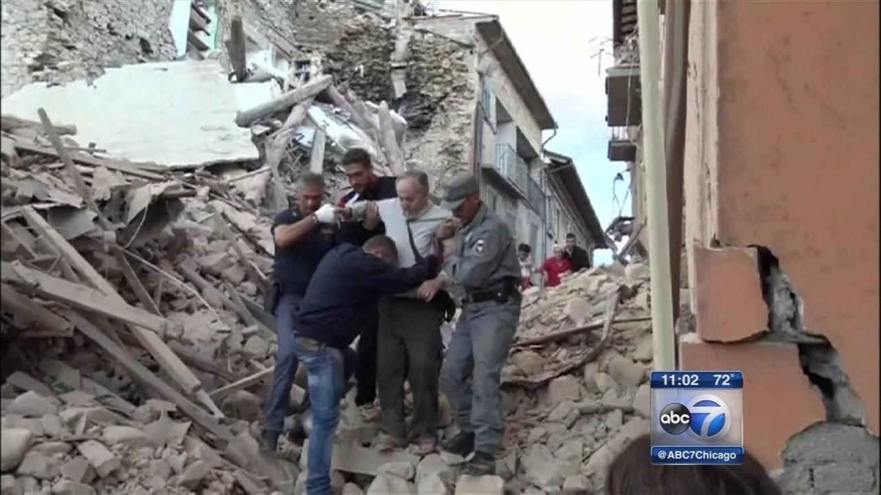 Italy earthquake kills at least 73