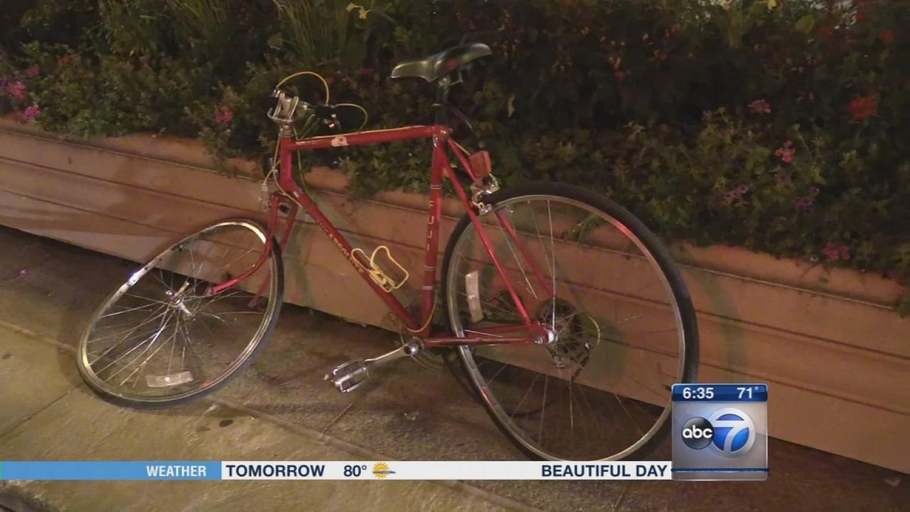 Bicyclist struck by wrong way driver