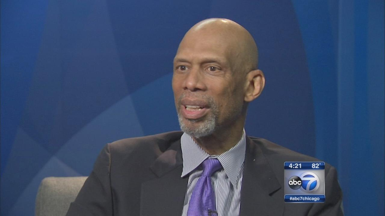 Kareem Abdul-Jabbar talks about new book