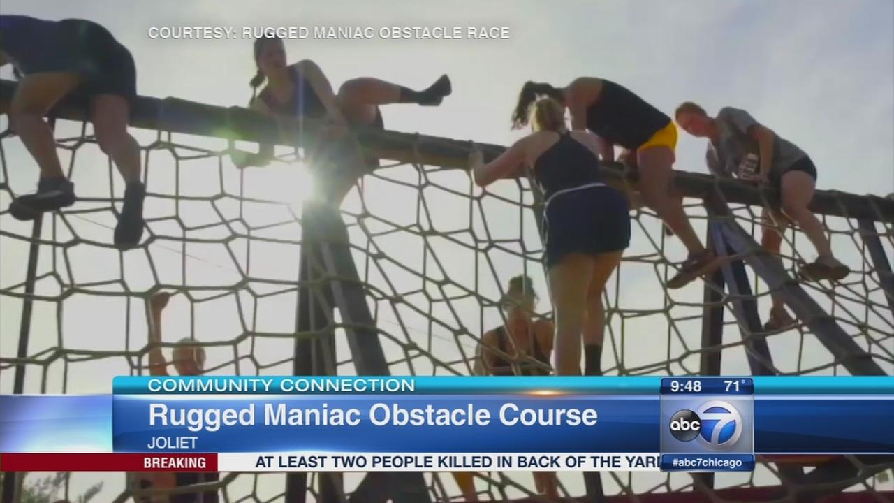 Runners make a mess at Rugged Maniac