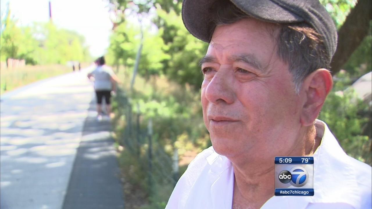 Grandfather attacked on 606 Trail