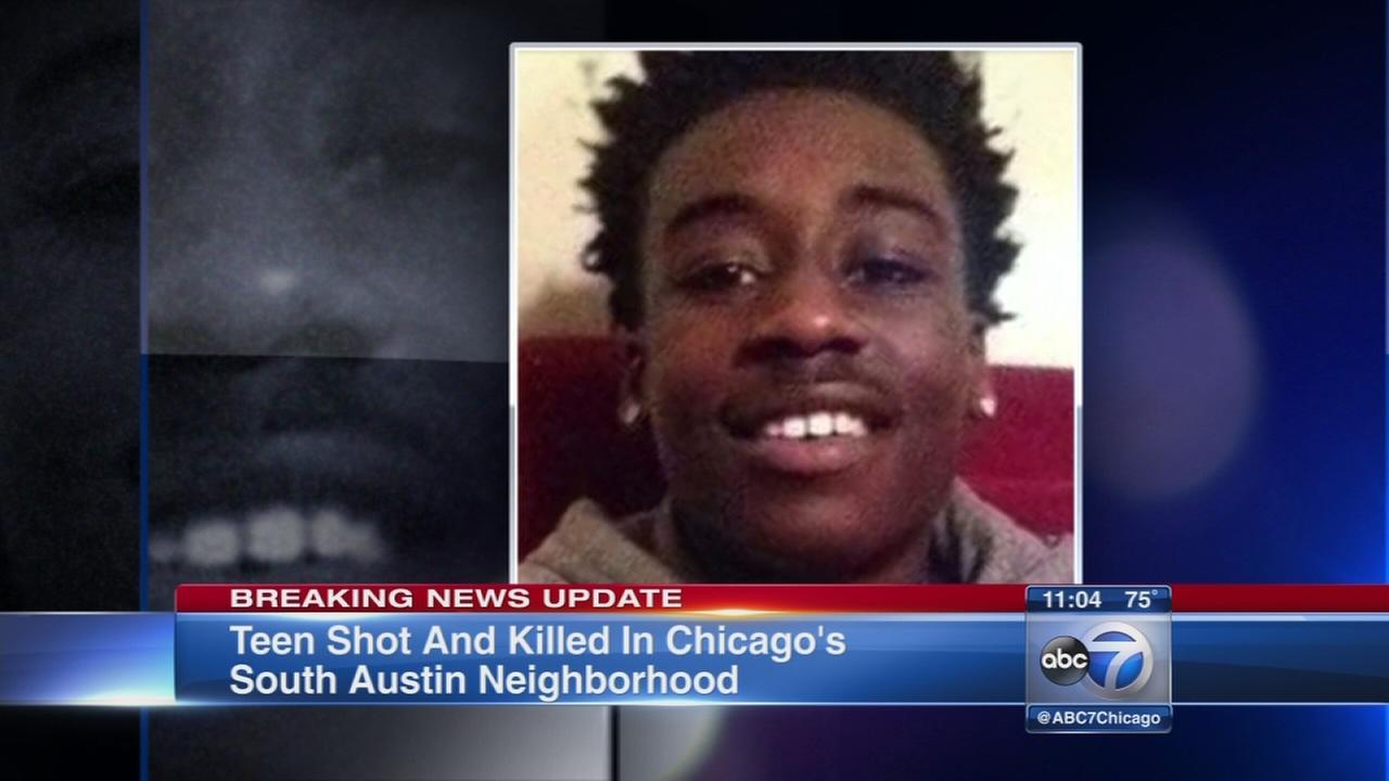 Teen fatally shot in South Austin