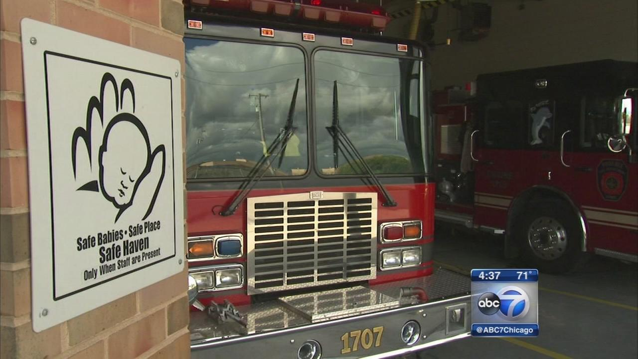 Young mother drops off twin boys at Phoenix fire station