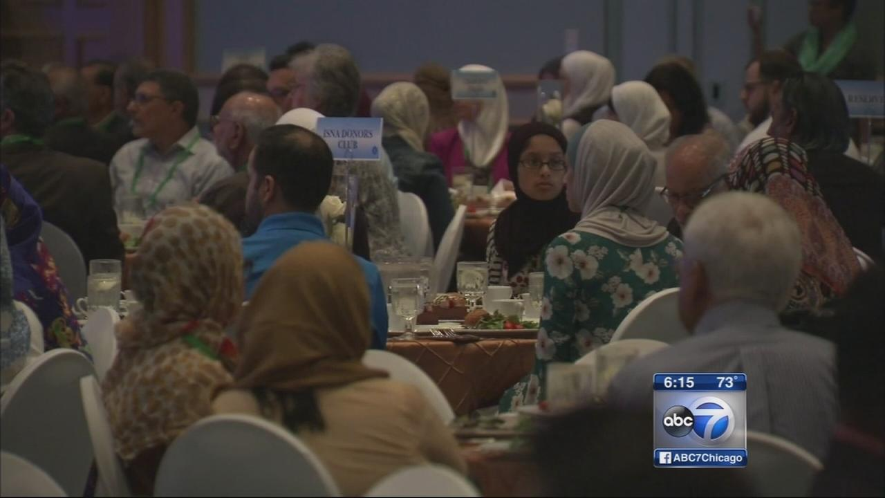 Muslim gathering held in Rosemont