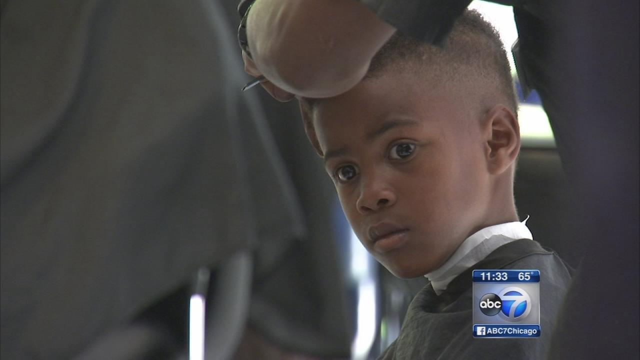 Police event offers free haircuts