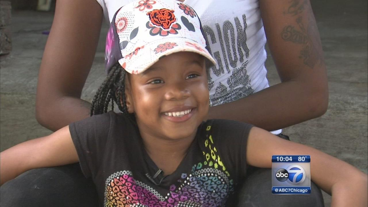Zariah Muhammad, 6yo girl shot last month, prepares for school