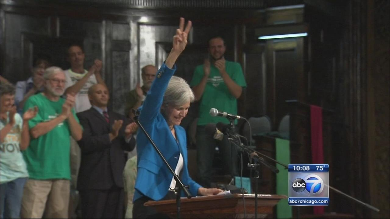 Jill Stein campaigns in Chicago