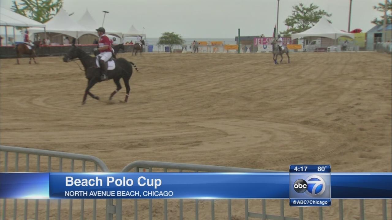 Polo Cup underway at North Avenue Beach