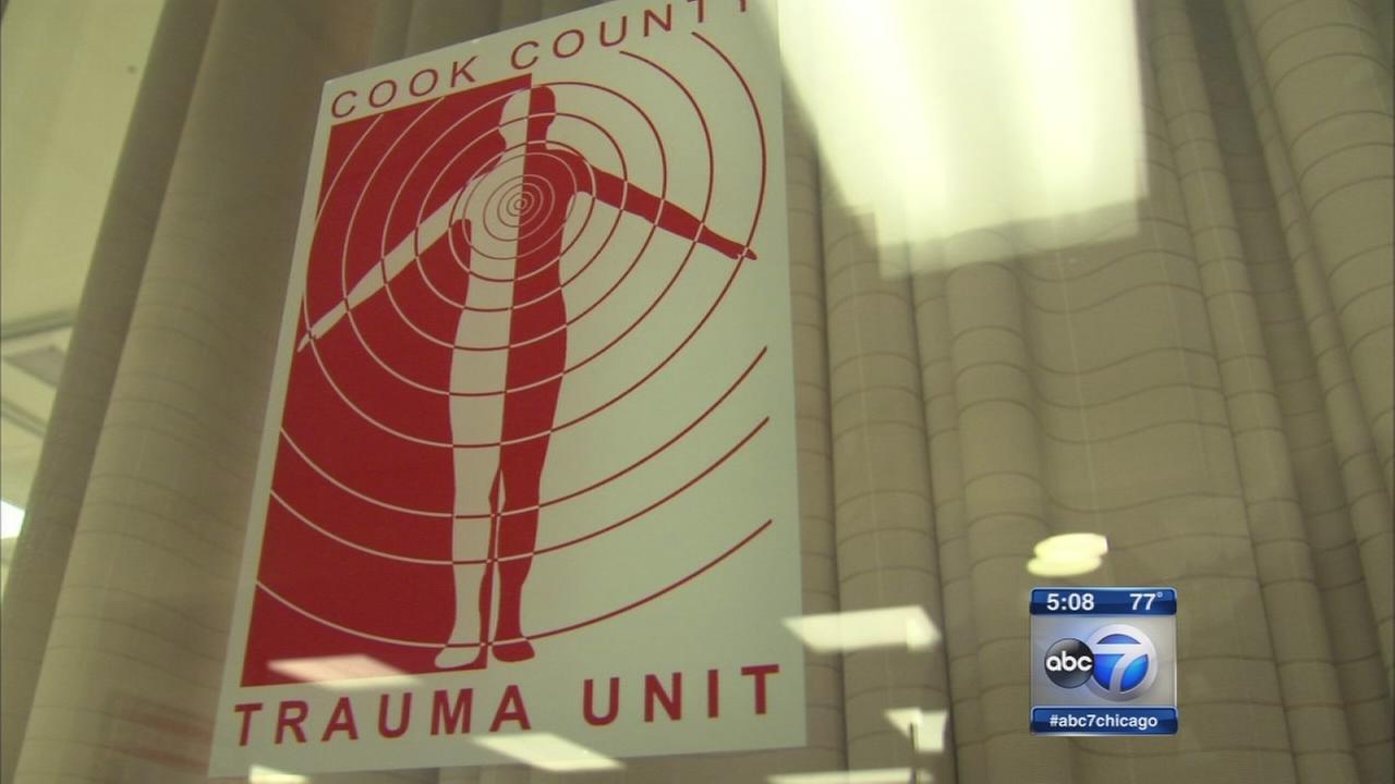 Cook Co. trauma center celebrates 50th anniversary