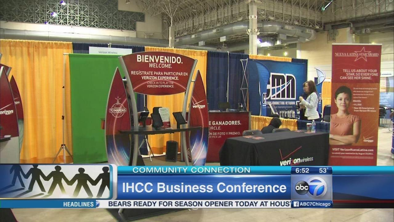 Make a connection at the IHCC Business Conference