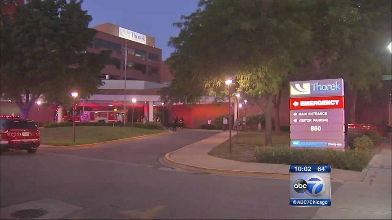 Hospital evacuated due to freon leak