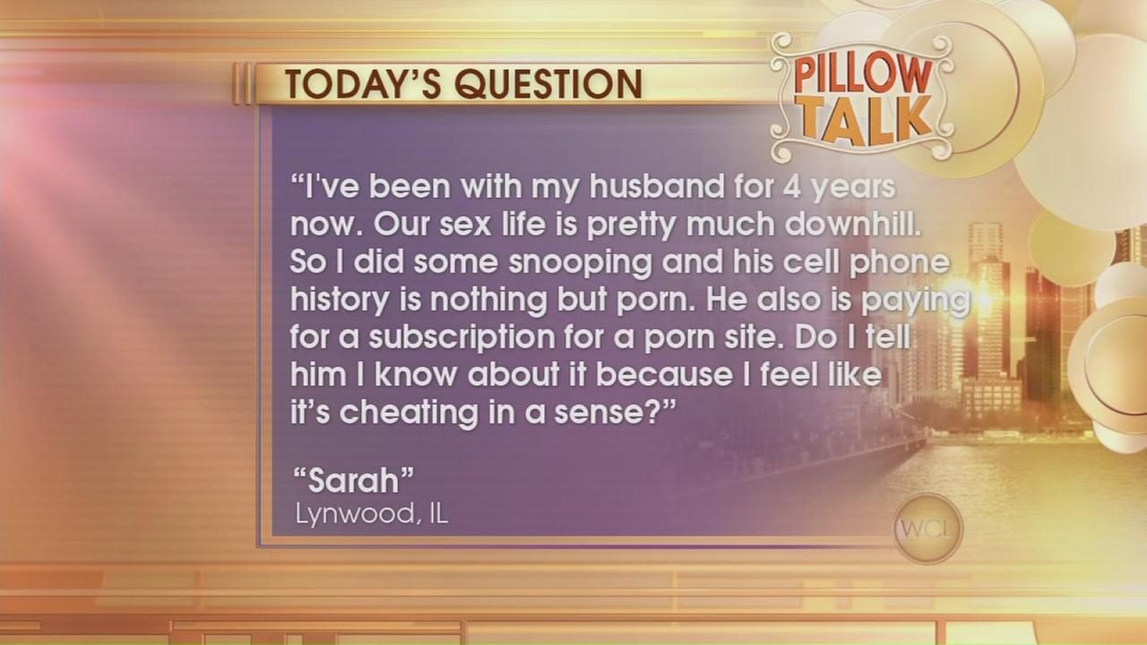 Pillow Talk: Is porn cheating?