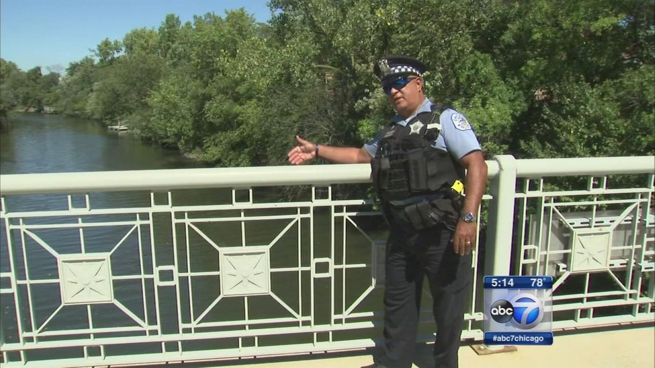CPD officer tells how he pulled suicidal man to safety