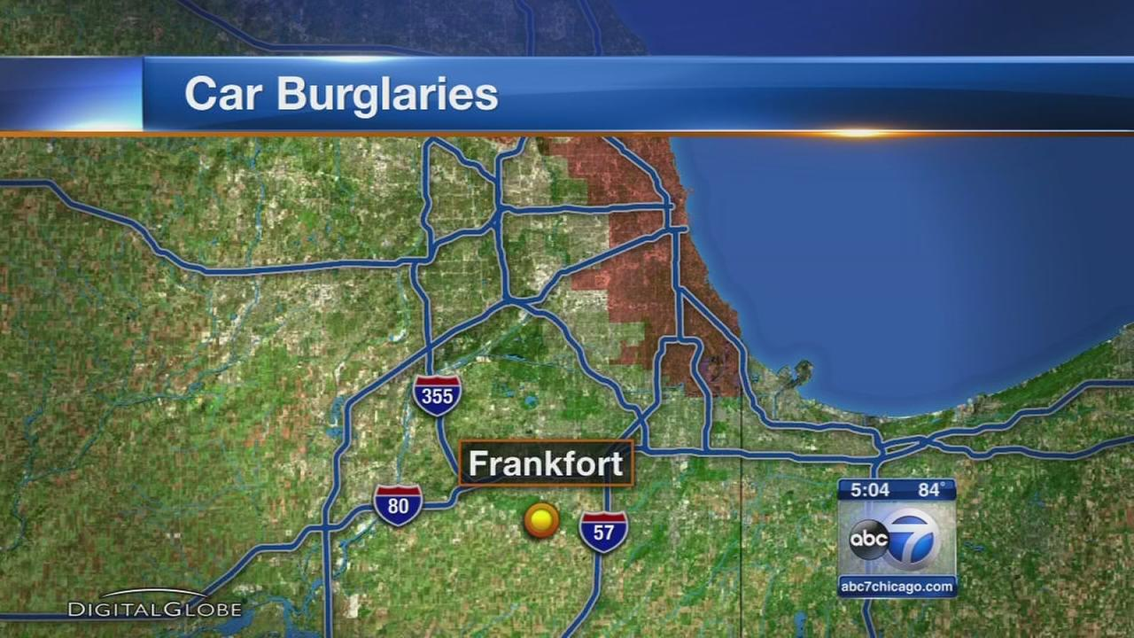 Valuables stolen from cars in southwest suburbs