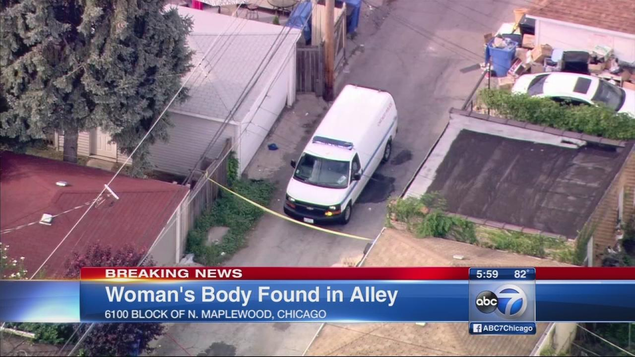Body found in West Rogers Park alley