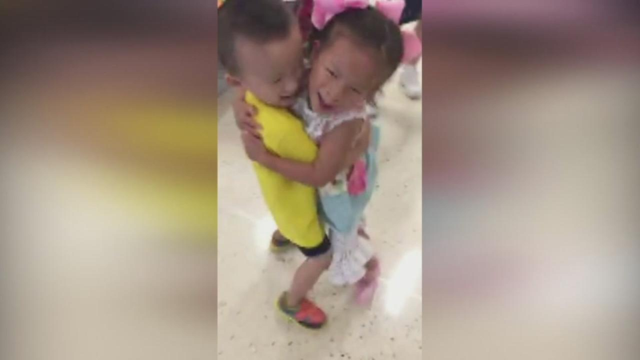Orphans who were best friends in China reunite