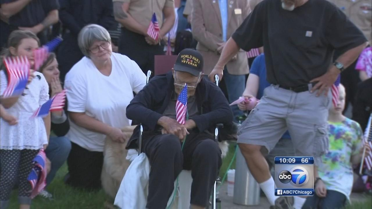 Antioch veterans dying wish honored by community