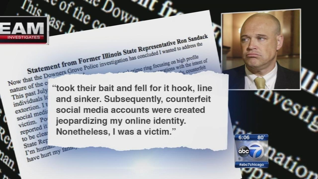 I-Team: Sextortion led to ex-State Rep. Sandack?s resignation