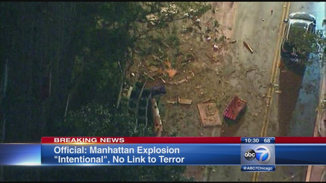 Explosion in NYC