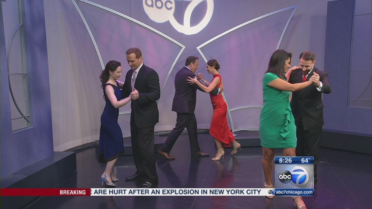 Tango lessons from new Argentine restaurant