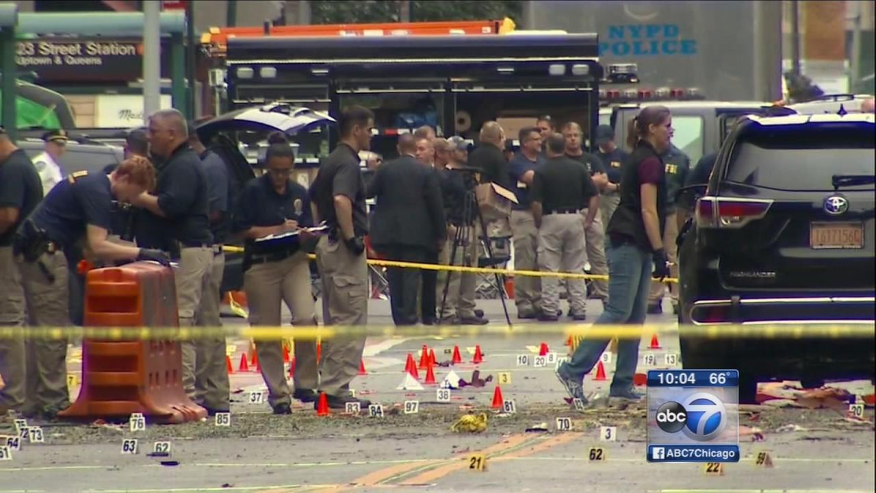 Authorities call NYC explosion a bombing