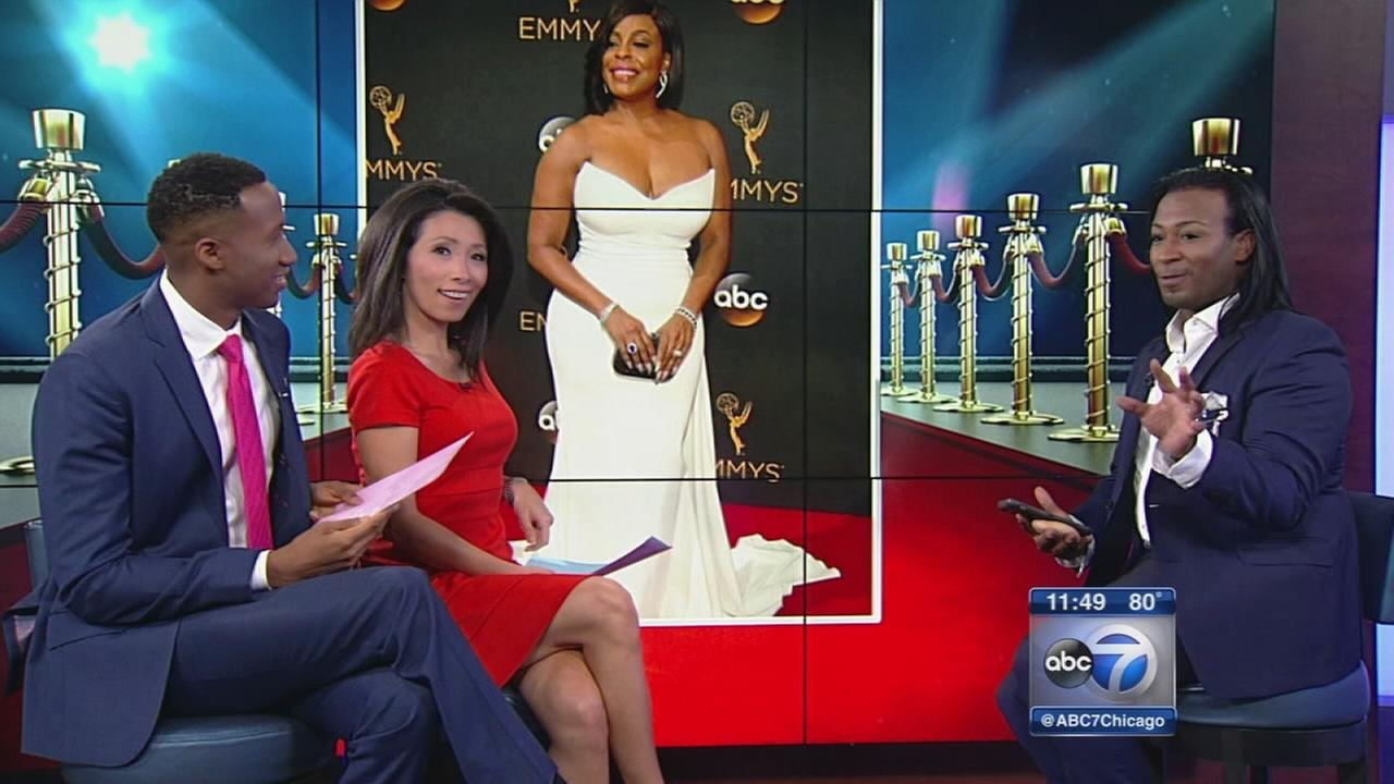 Celebrity stylist breaks down Emmy fashion