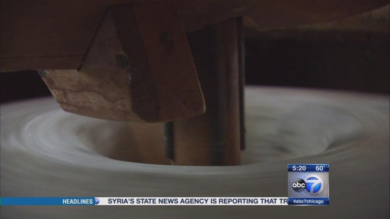 Historic Graue Mill in Oak Brook grinding again