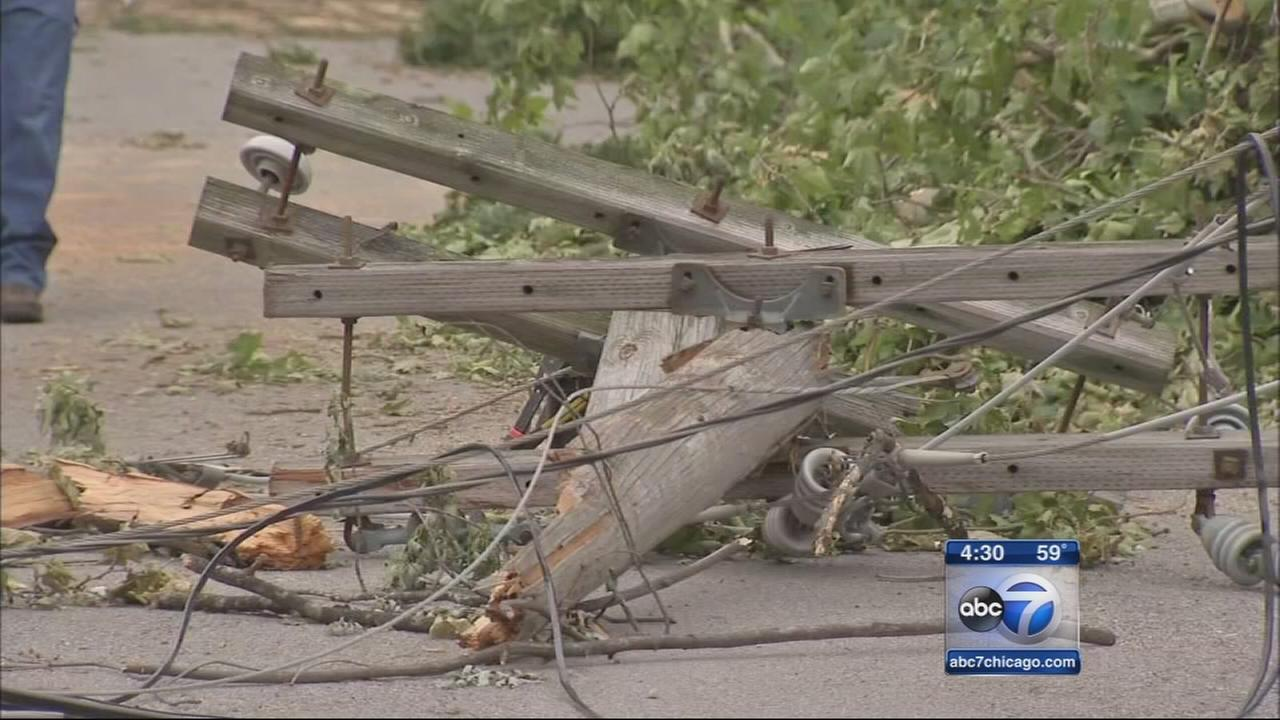 Some ComEd customers still without power after storms