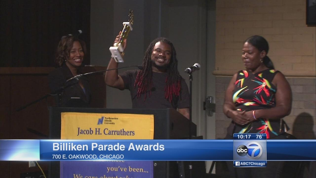 Bud Billiken Parade acts honored at award ceremony