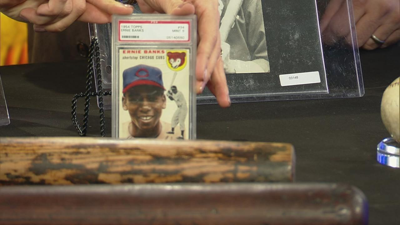 Baseball memorabilia up for auction
