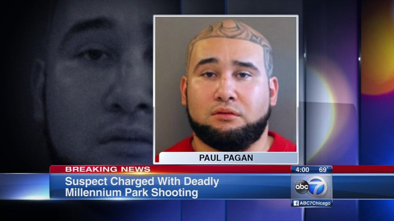 Man charged in murder near Millennium Park