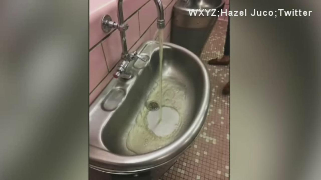 Teen suspended for posting photo of dirty water
