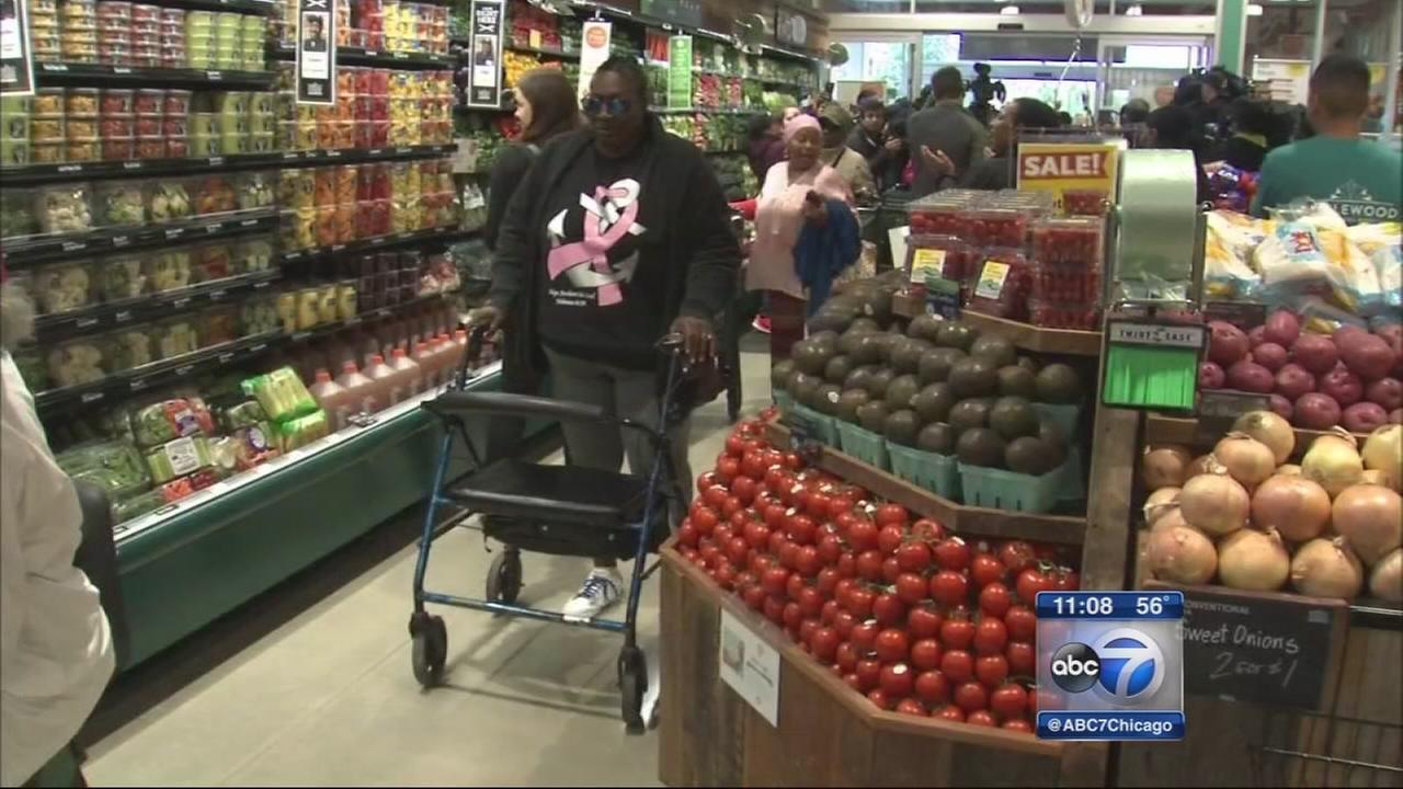 Whole Foods opens in Englewood