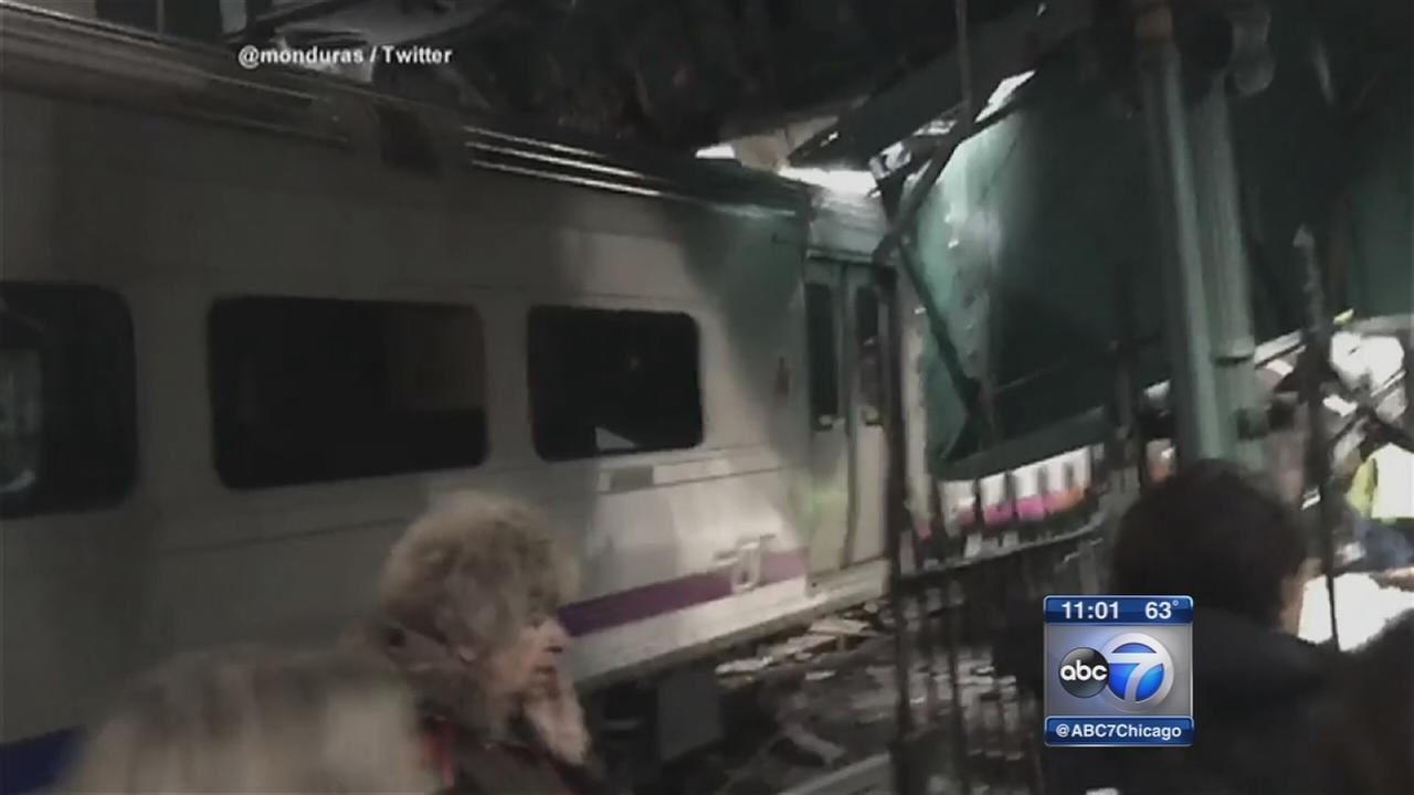 1 dead in NJ train crash