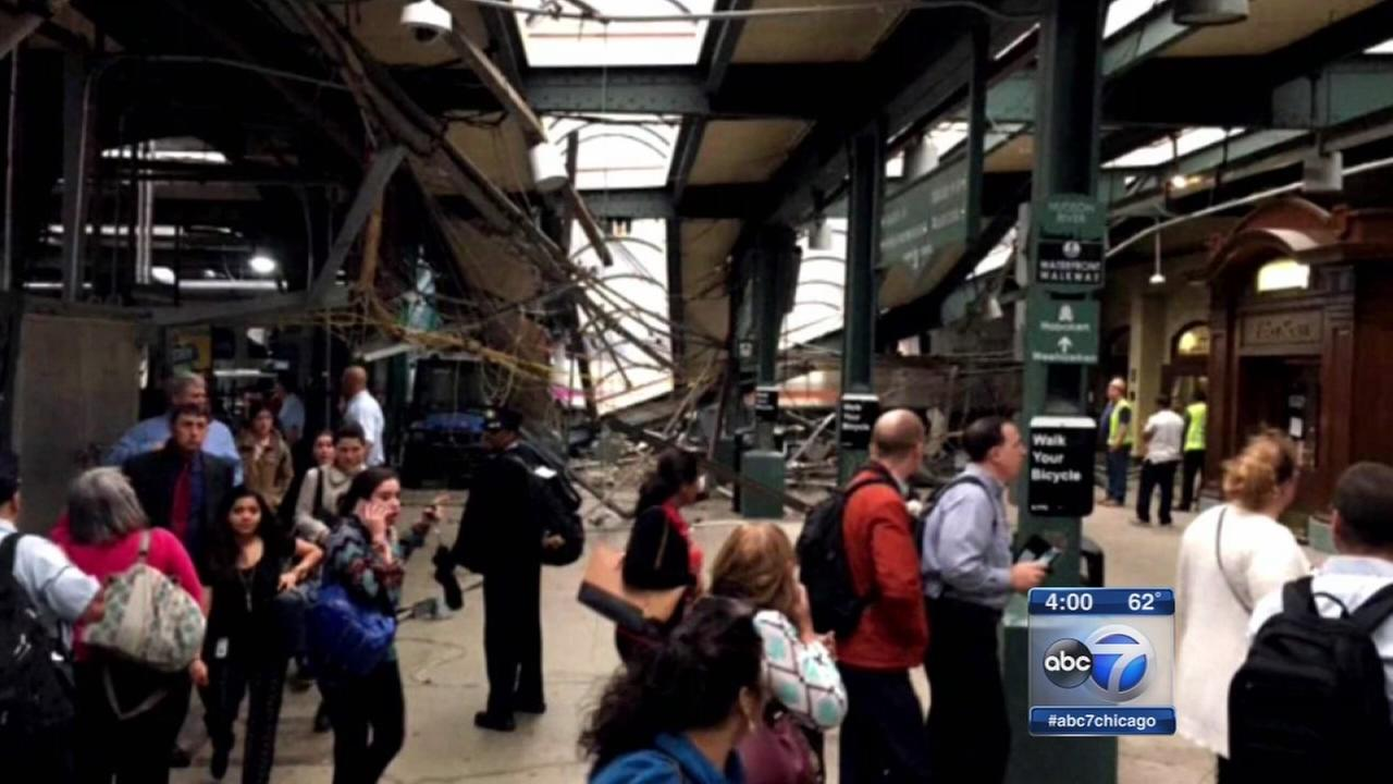 Hoboken train crash at NJ Transit station kills 1, injures more than 100