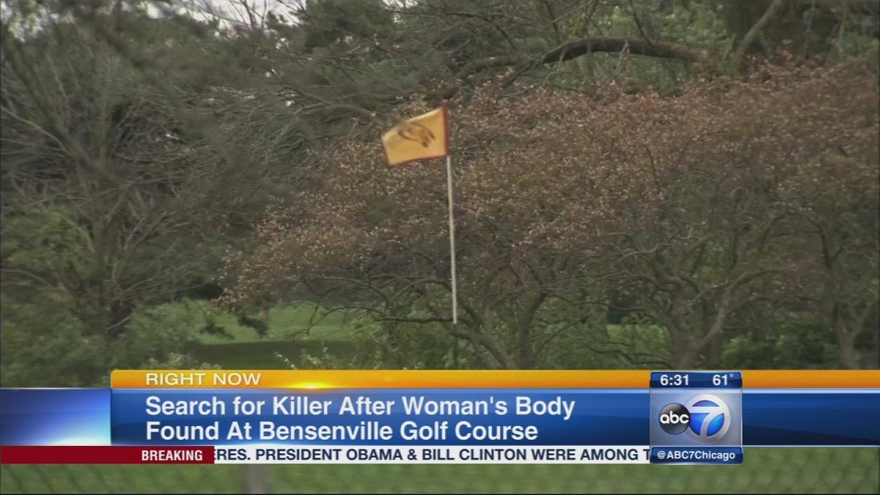 Search for killer after body found at golf course