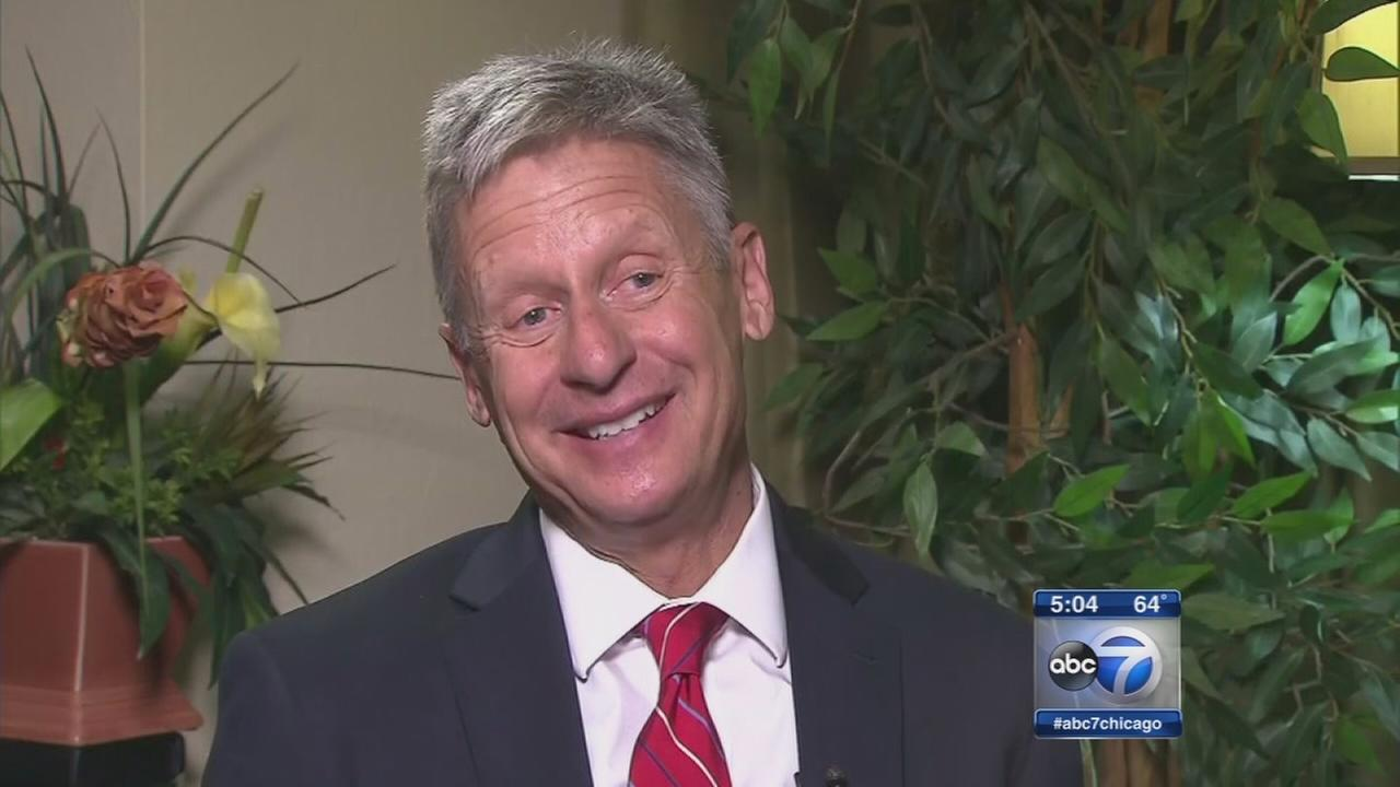 Tribune endorses Gary Johnson for president