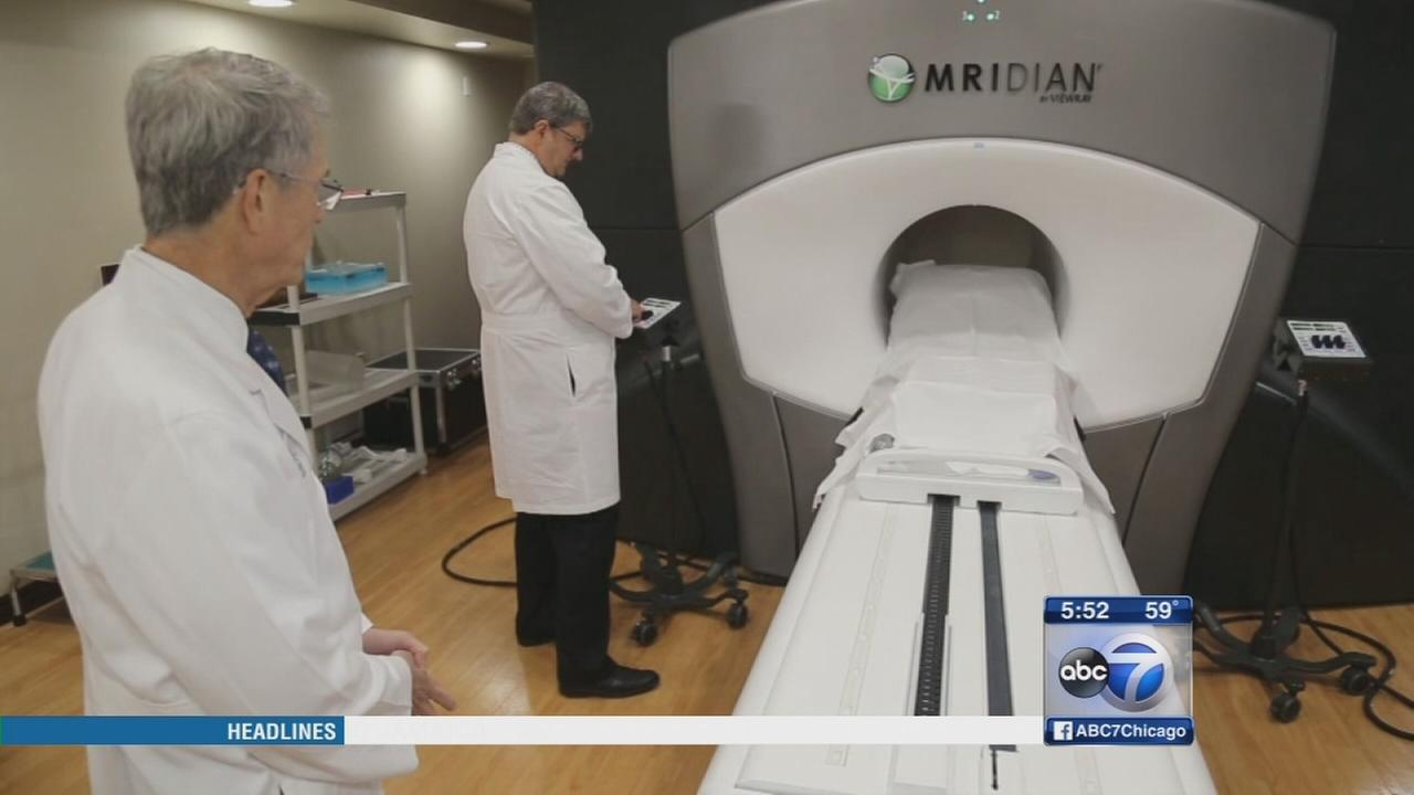 Doctors using MRI-guided radiation to target cancer