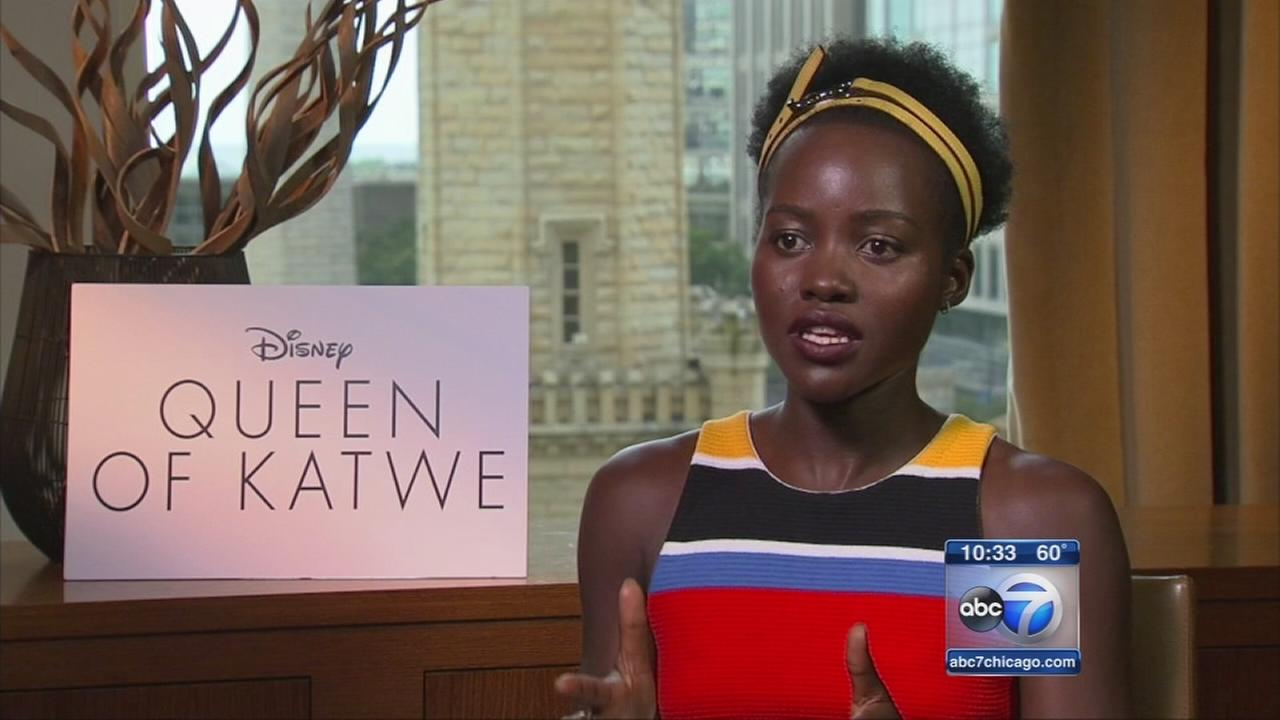 Lupita Nyongo stars in Queen of Katwe