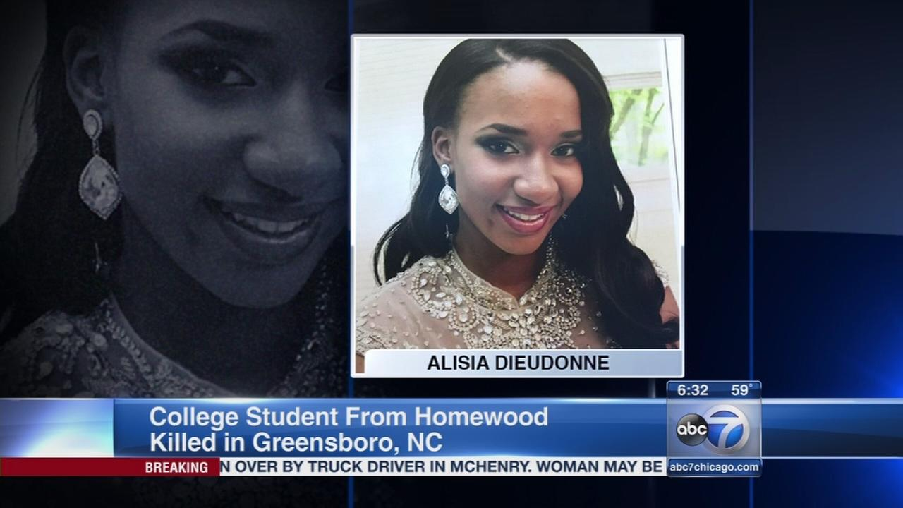 Suburban college student killed in North Carolina