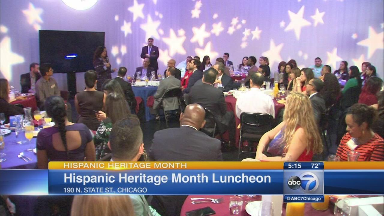 Hispanic Heritage luncheon held at ABC7