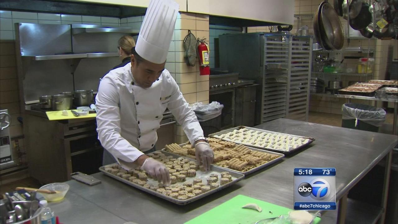 Chef shares Hispanic heritage through food