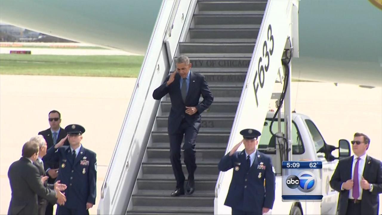 Obama in Chicago