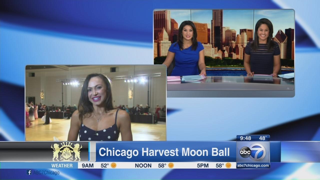 Dancing with the Stars pro performs at Chicago Harvest Moon Ball