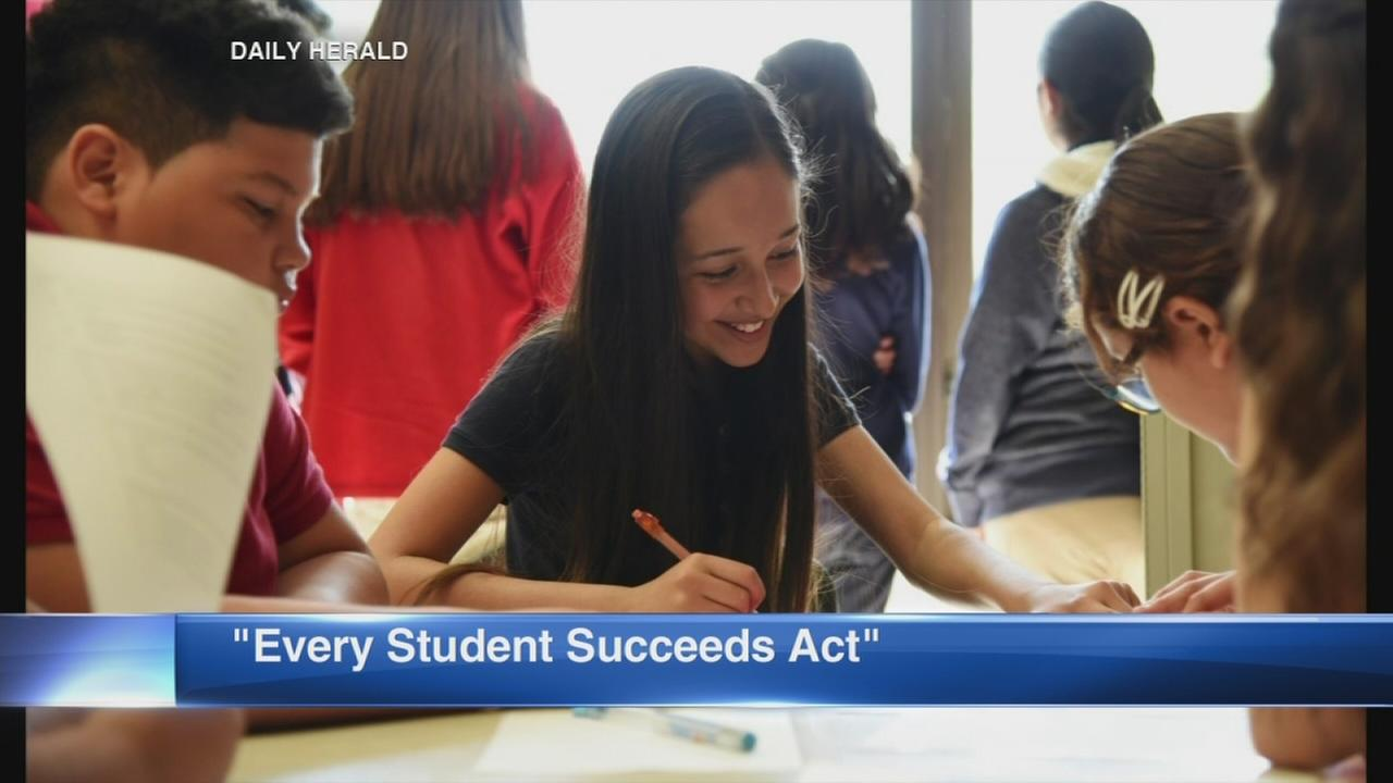 Daily Herald: New law changes federal government evaluates schools, students
