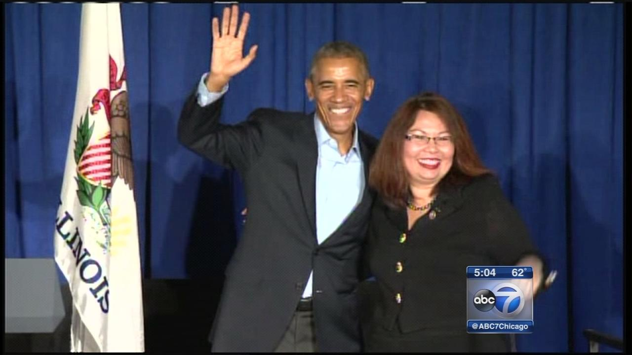 Obama attends Democratic fundraiser in Chicago