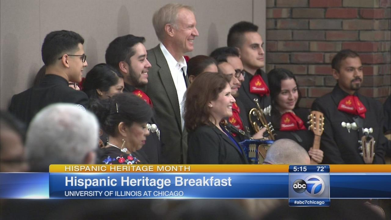 Hispanic Heritage Month breakfast