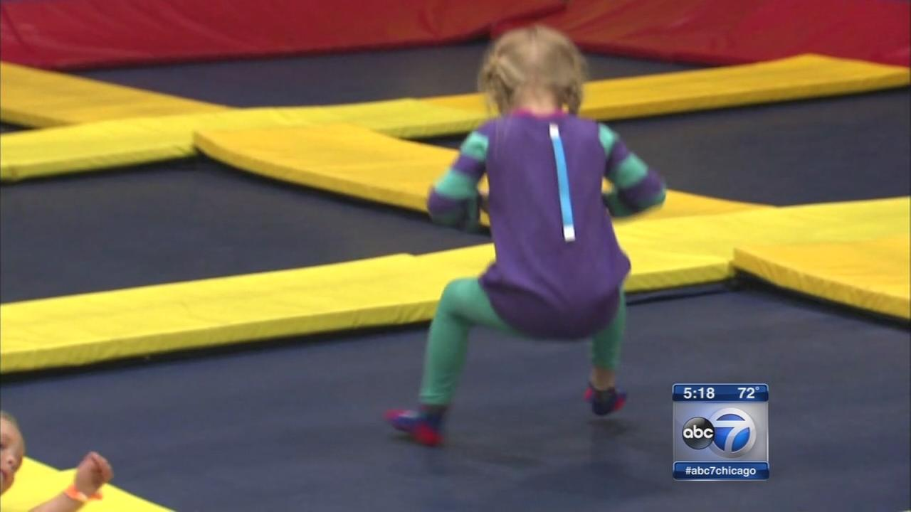 Trampoline park offers modifications for kids with autism