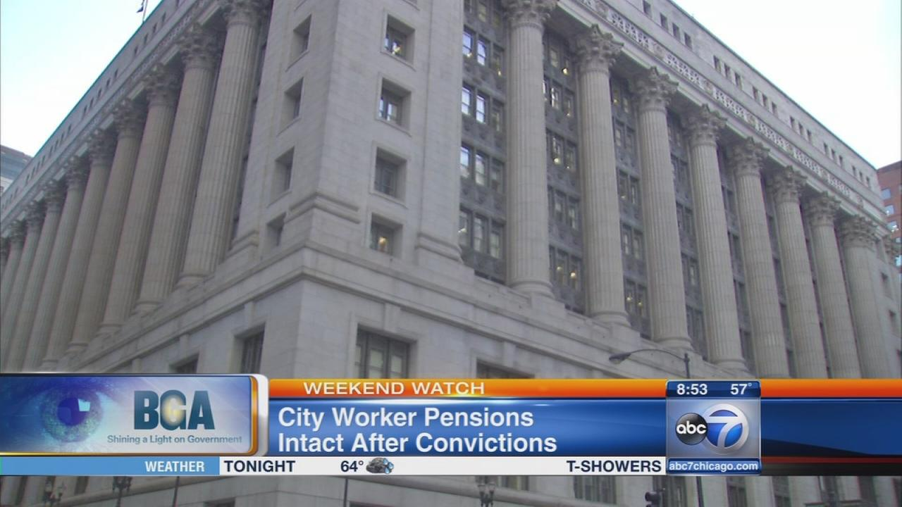 Weekend Watch: Convicted felons keep collecting pensions